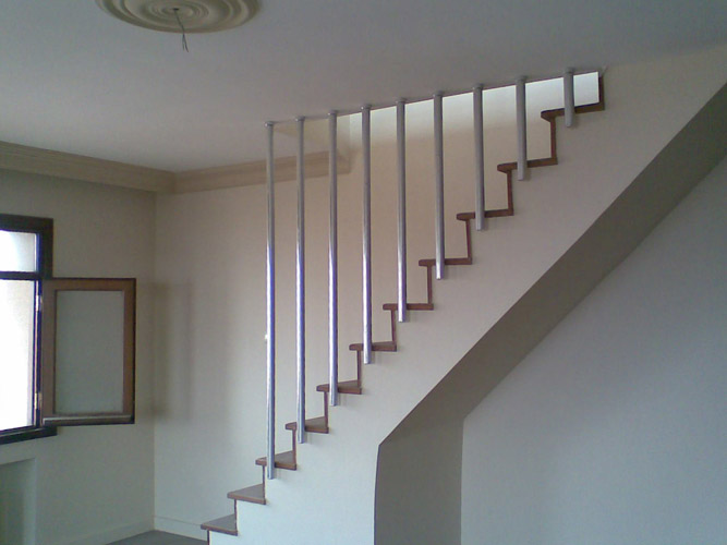 Dubleks merdiven korkuluk modelleri